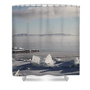 Chilly Giant Shower Curtain
