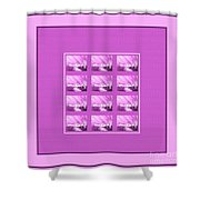 Chilly Winter Evening Shower Curtain