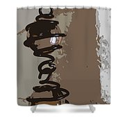 Chimes Shower Curtain