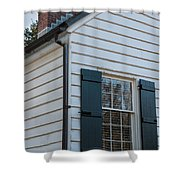Chimney And Shutters Shower Curtain