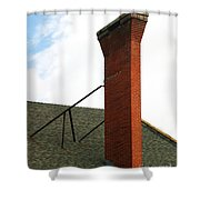 Chimney Shower Curtain