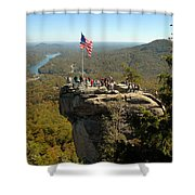Chimney Rock II Shower Curtain