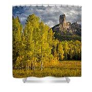 Chimney Rock San Juan Nf Colorado Img 9722 Shower Curtain