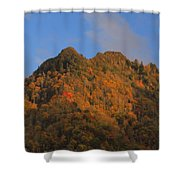 Chimney Tops In Smoky Mountains Shower Curtain