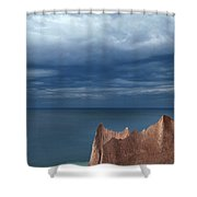 Chimneybluff Shower Curtain