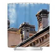 Chimneys In French Quarter Shower Curtain