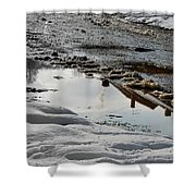 Chimneys Shower Curtain