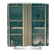 China Cabinet Shower Curtain