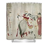 China Concubine & Horse Shower Curtain