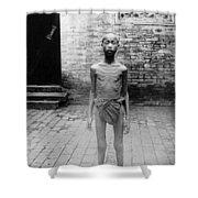 China Famine Victim Shower Curtain