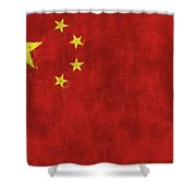 China Flag Shower Curtain