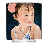 China Doll Shower Curtain