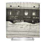 China Railroad, 1918 Shower Curtain