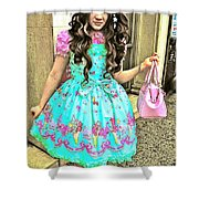 China Town Girl 2013 Shower Curtain