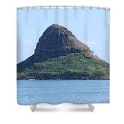 Chinaman's Cap Shower Curtain