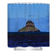 Chinaman's Hat Island-kane'ohe Bay Oahu Hawaii Shower Curtain