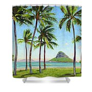 Chinamans Hat - Oahu Shower Curtain