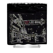 Chinatown Homage Tucson Arizona Circa 1885 1885-2009 Shower Curtain