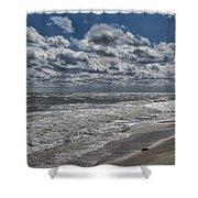 Chincoteague Beach Shower Curtain