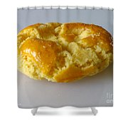 Chinese Almond Cookie Shower Curtain