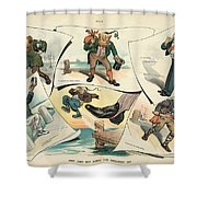 Chinese Exclusion Act, 1905 Shower Curtain