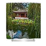 Chinese Garden Dream Shower Curtain