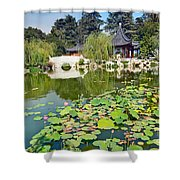 Chinese Garden - Huntington Library. Shower Curtain