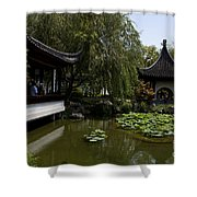 Chinese Gardens The Huntington Library Shower Curtain