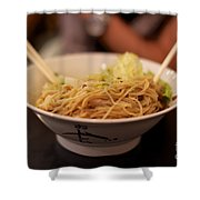 Chinese Noodle Dish Shower Curtain