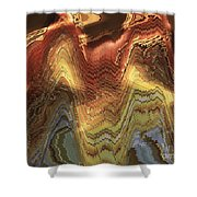 Chinese Opera Abstract Shower Curtain