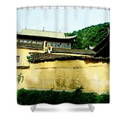 Chinese Temple Shower Curtain