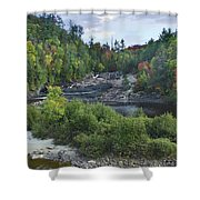 Chippewa River Ontario Canada Shower Curtain