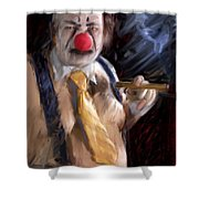 Chippy The Clown Shower Curtain