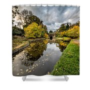Chirk Canal Shower Curtain