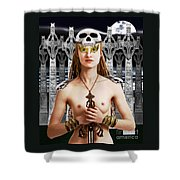 Chloe Ardent Protector Shower Curtain