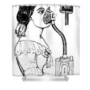 Chloroform Inhaler, 1858 Shower Curtain