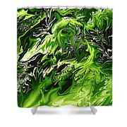 Chlorophylle Shower Curtain