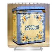 Chocolat En Poudre Shower Curtain