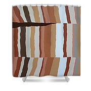 Chocolate Fault - Orig Sold Shower Curtain