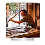 Chocolate Maker Shower Curtain