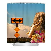 Choices Shower Curtain