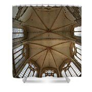 Choir Vault St Thibault Shower Curtain