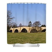 Chollerford Bridge Shower Curtain