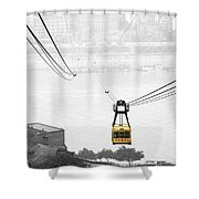 Chongqing Cable Car Shower Curtain