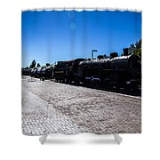 Choo Choo 3 Shower Curtain