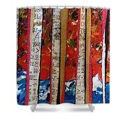 Chop Sticks Shower Curtain
