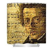 Frederic Chopin Shower Curtain