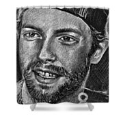 Chris Martin - Coldplay Shower Curtain