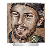 Chris Martin Shower Curtain