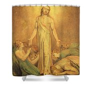 Christ Appearing To The Apostles After The Resurrection Shower Curtain